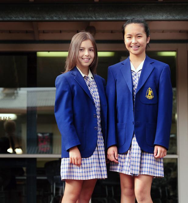 "97884dd53eb ""Summer uniform for girls includes Koonung regulation gingham dress"