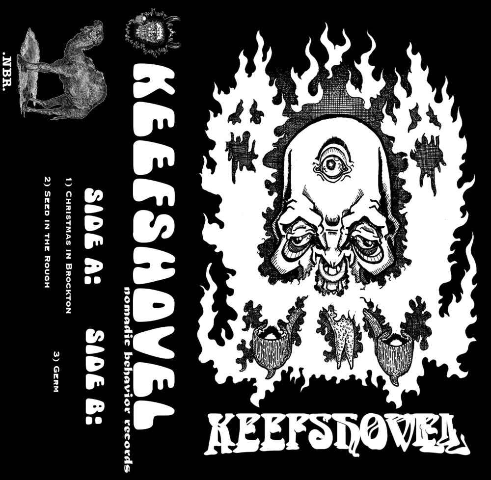 Keefshovel Demo tape design.