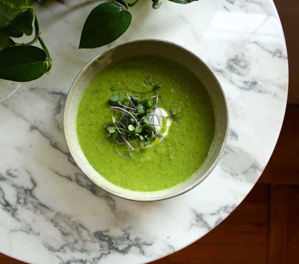 soup for summer - fresh pea and mint soup — Crunchy Radish