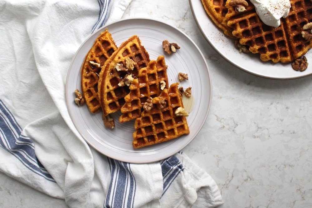 recipe: cornmeal waffles egg whites [37]
