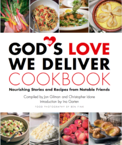 God's Love We Deliver Cookbook all proceeds from the book go back to this incredible organization.