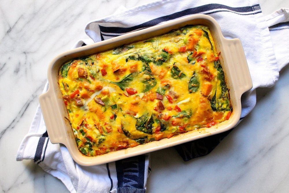whats for christmas morning very veggie breakfast casserole