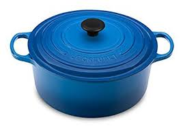 Le Creuset Dutch Oven (We use this most days. I have two sizes in Flame and Soleil)