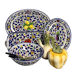 Deruta Platters (Currently obsessed with these. Have gifted and purchased for myself!)