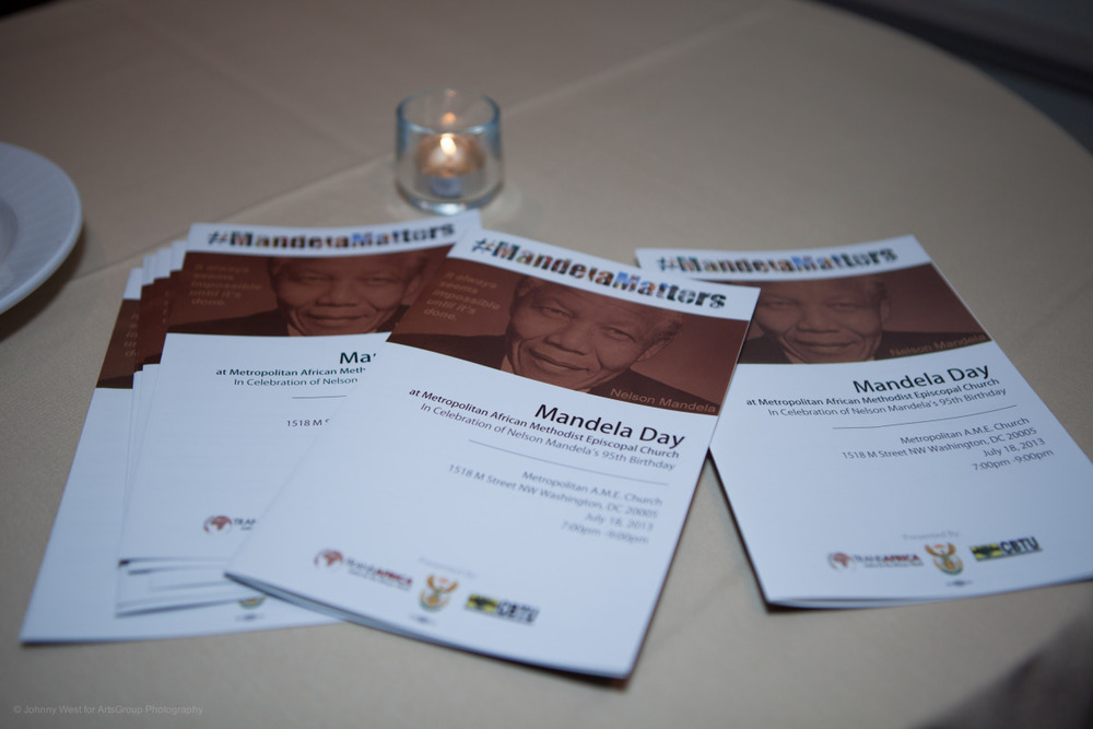 Mandela Day at Metropolitan A.M.E. Church