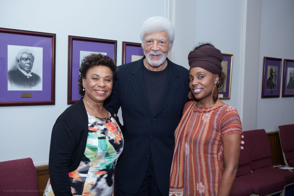 Congresswoman Barbara Lee, Congressman Ron Dellums and Ayanna Gregory