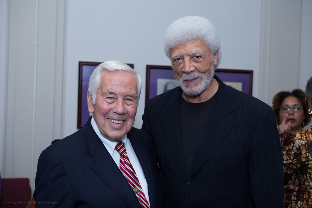 Senator Richard Lugar and Congressman Ron Dellums