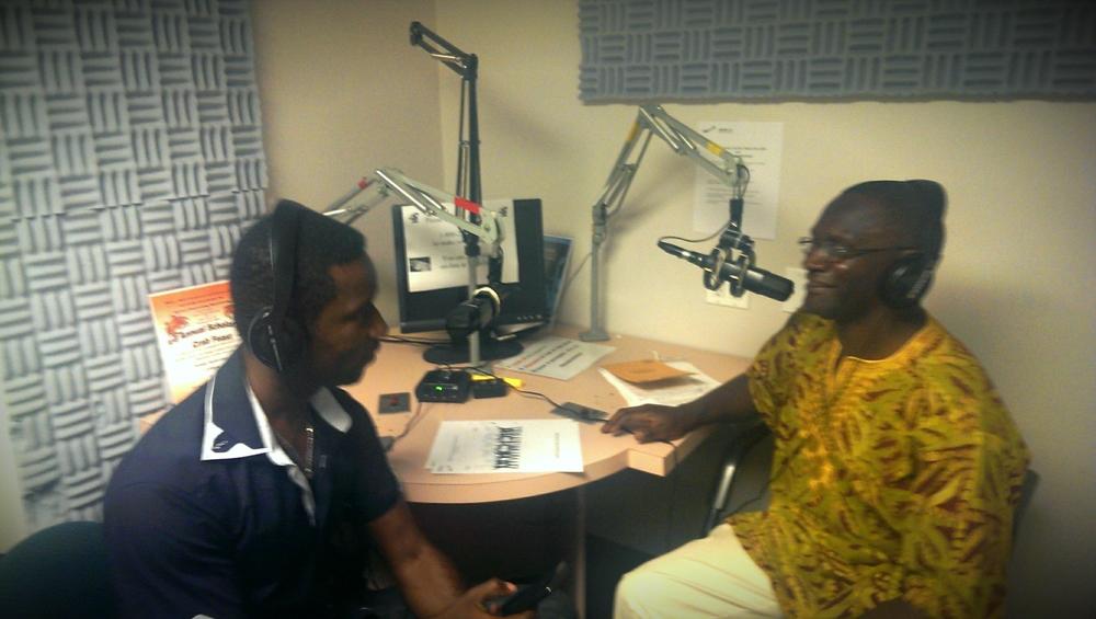 Koby Maxwell & Africa Now Host Mwiza Munthali