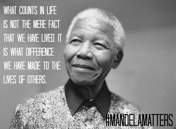 For stories related to Nelson Mandela, click here.