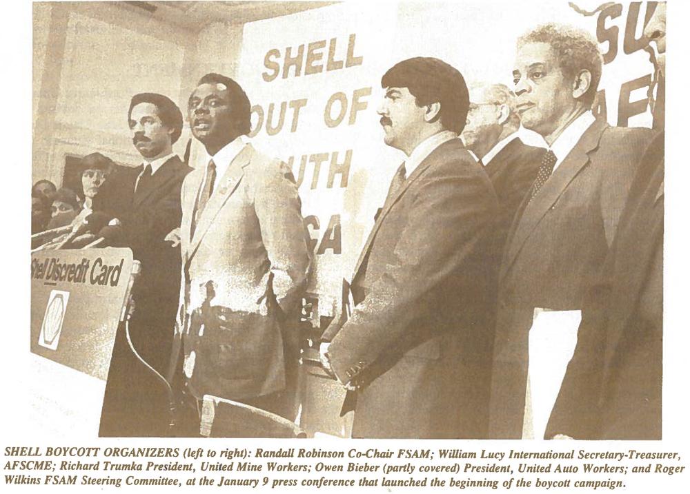 Shell Boycott Organizers