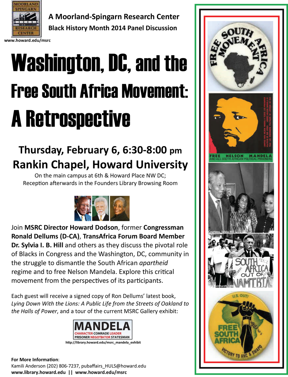 Feb 6--Free South Africa Movement Panel Flyer.jpg