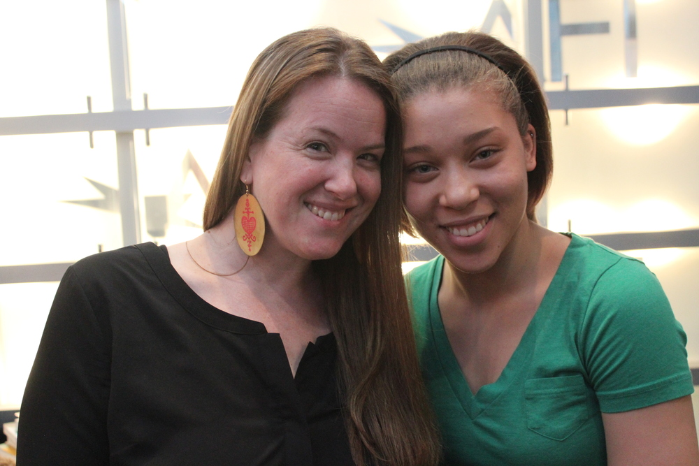 TransAfrica Program Director Melinda Miles and step-daughter Simbi Duplan