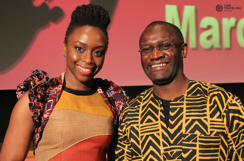 Mwiza Munthali and Chimamanda Ngozi Adichie