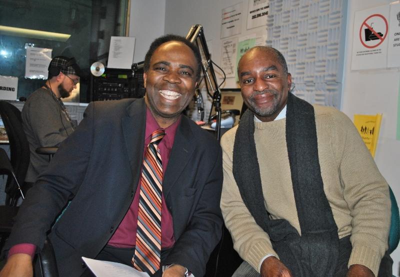 Aniedi Okure (L), Adotei Akwei (R)