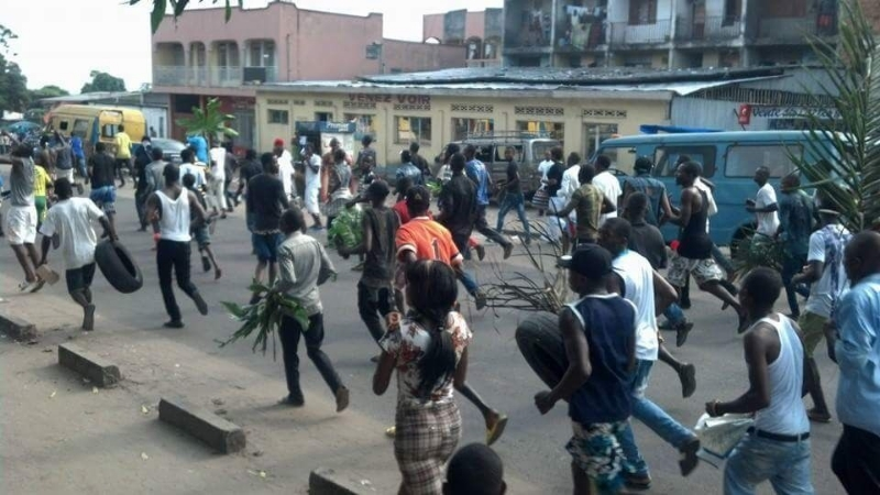 Youth Protest in DRC (Photo Courtesy of Friends of the Congo)