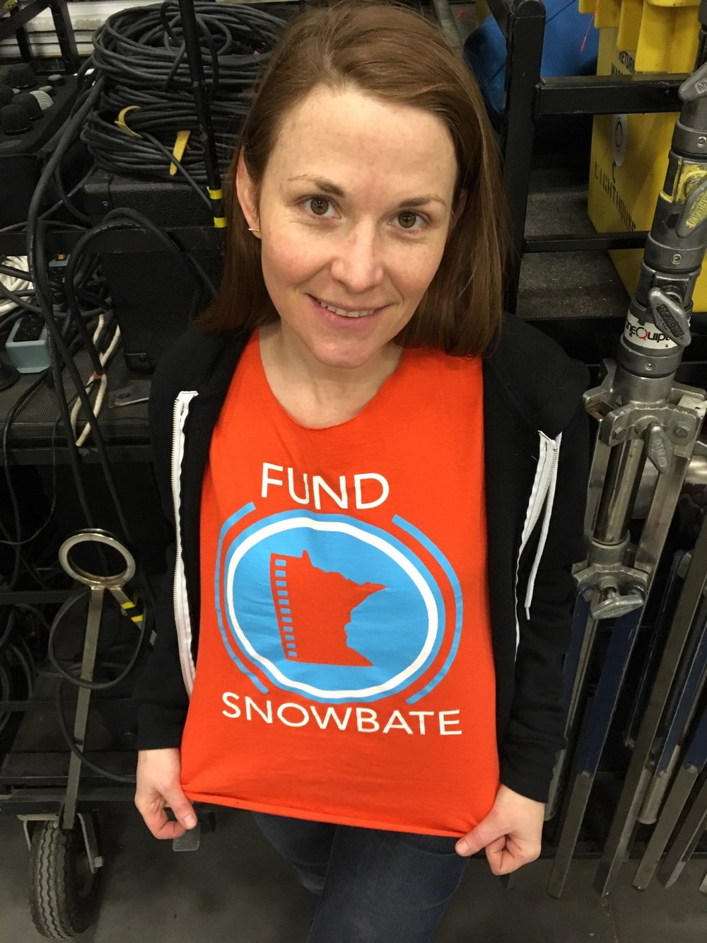 Film Industry decorator, Sarah Jean, supports a film Incentive, do you?