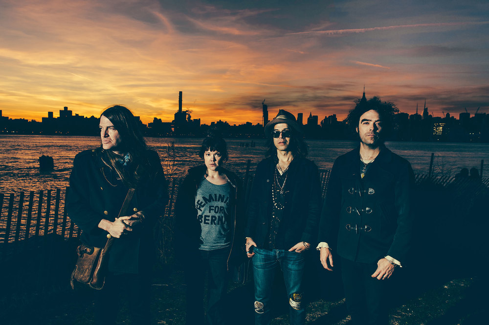 The Dandy Warhols' Courtney Taylor-Taylor, Zia McCabe, Peter Holmström and Brent DeBoer photographed by Chad Kamenshine