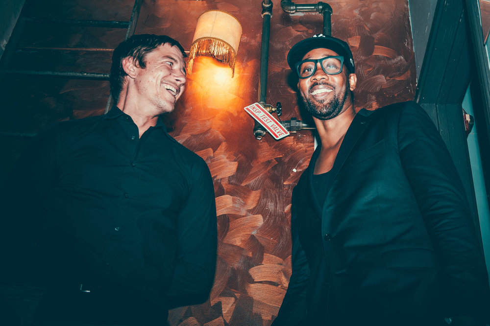 Paul Banks and RZA photographed by Chad Kamenshine