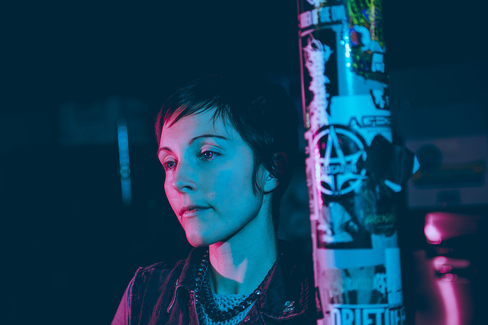 Channy Leaneagh of Poliça photographed by Chad Kamenshine