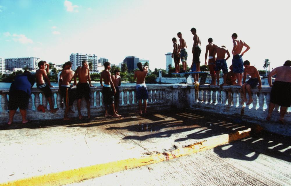 Trampolín para el Puente 2 Hermanos