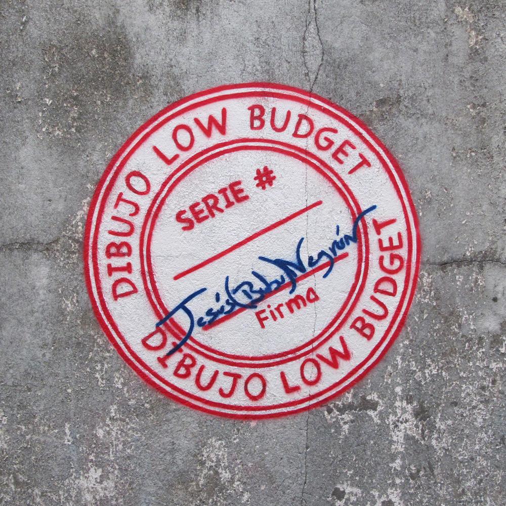 JESÚS 'BUBU' NEGRÓN Dibujos Low Budget