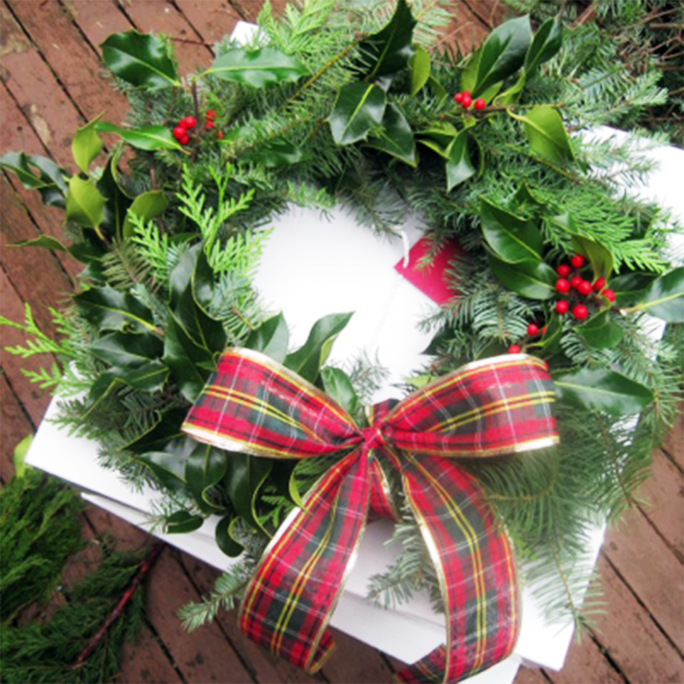 HOLIDAY WREATHS We handcraft wreaths that look great on front doors and are a great gift for family and friends during the holidays. Come see us at the Fremont Fair on Sundays 10am-5pm to pick one up starting November or send an email tocoloringnature@gmail.com.