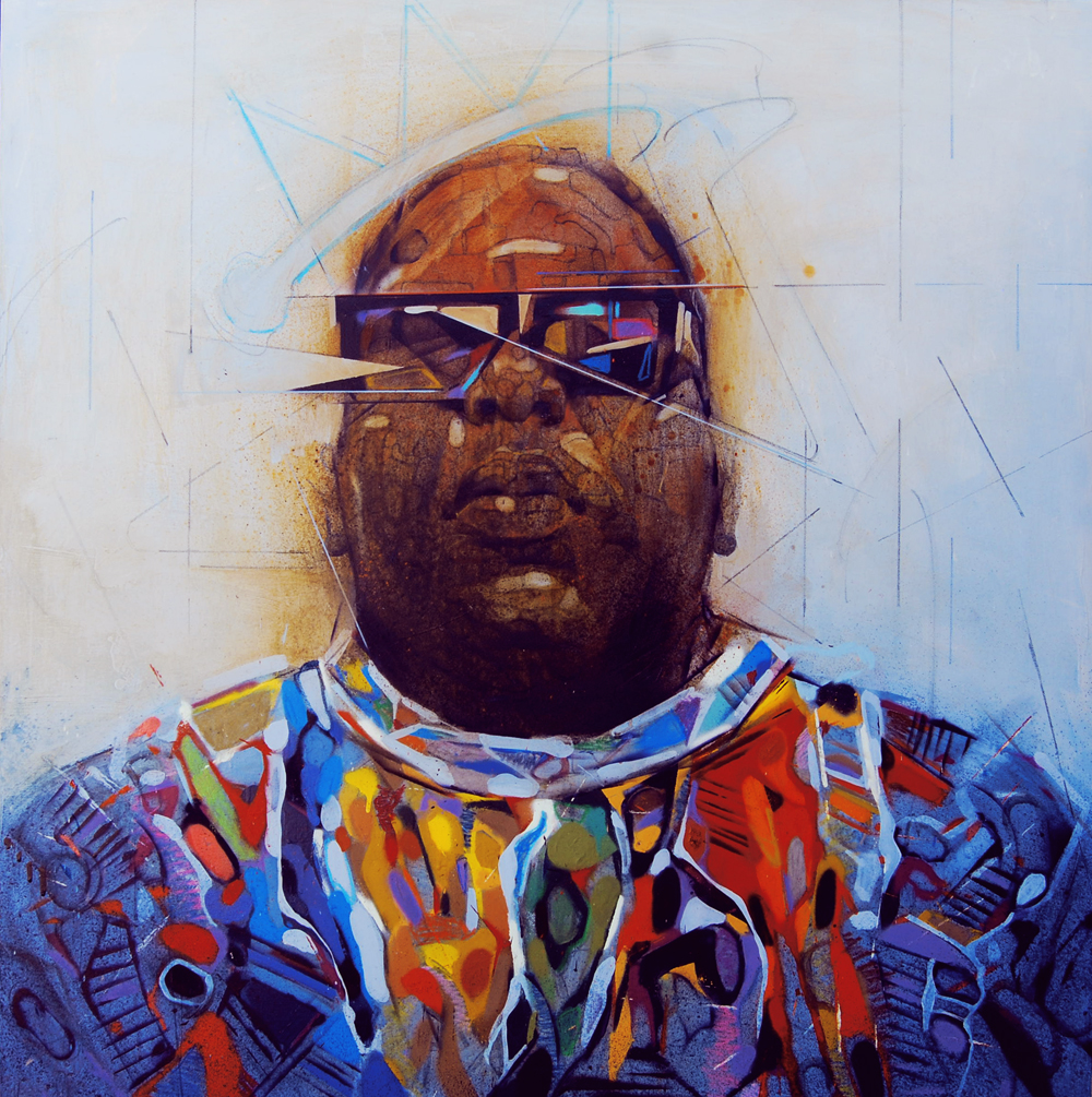 Biggie Painting Blog | B.I.G. Step By ...