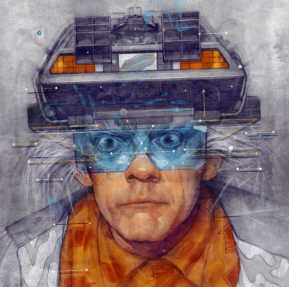 Back To The Future | Sam Rodriguez Art