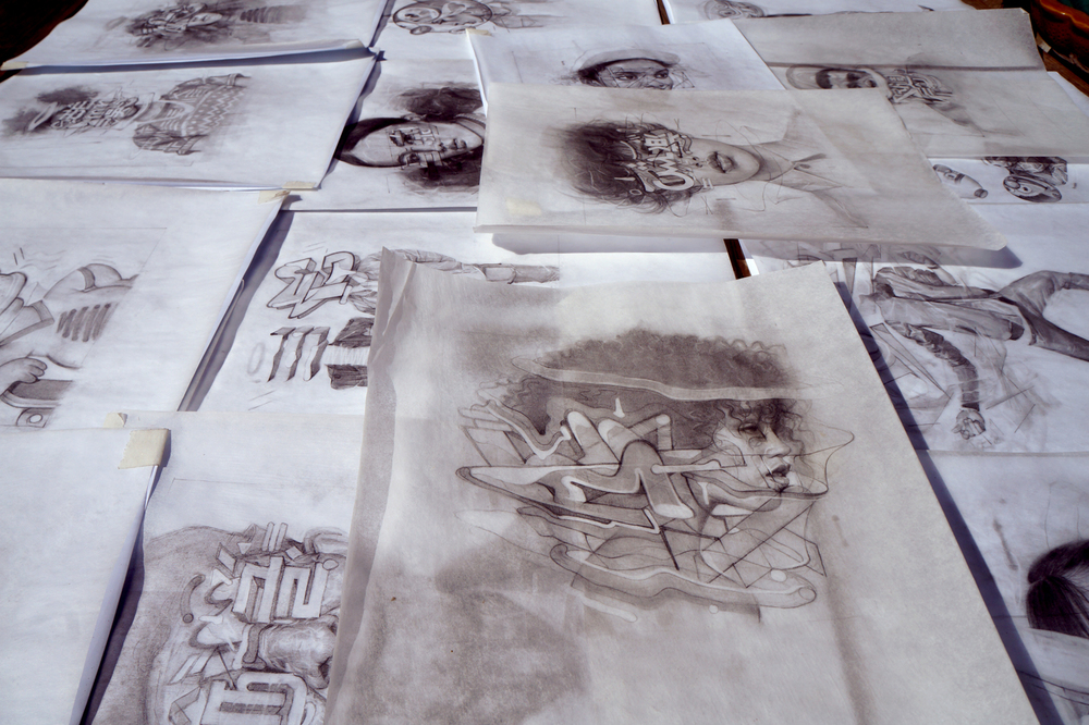 Drawings | Sam Rodriguez