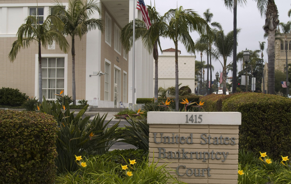 US Bankruptcy Court, Santa Barbara, Pacifica Real Estate Group Property Management.