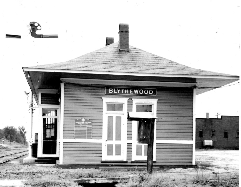 North side of Depot.  Photo by Hudnalle McLean Sr.