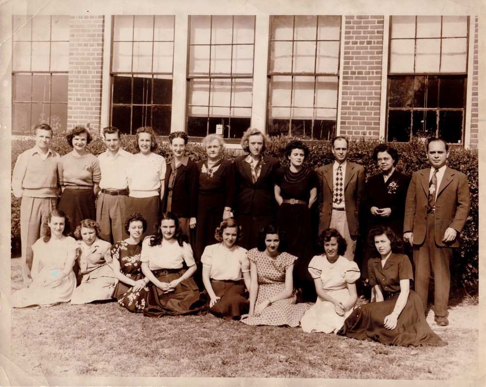 First 12th grade class 1949-1.jpg