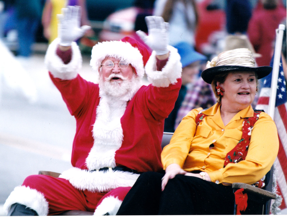 Billy and Carolyn Raines at Blythewood Christmas Parade.  Photo by: Jim McLean