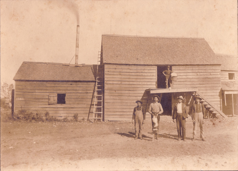 Blume and Martin Cotton Gin.  Photo courtesy of Dorothy Blume.