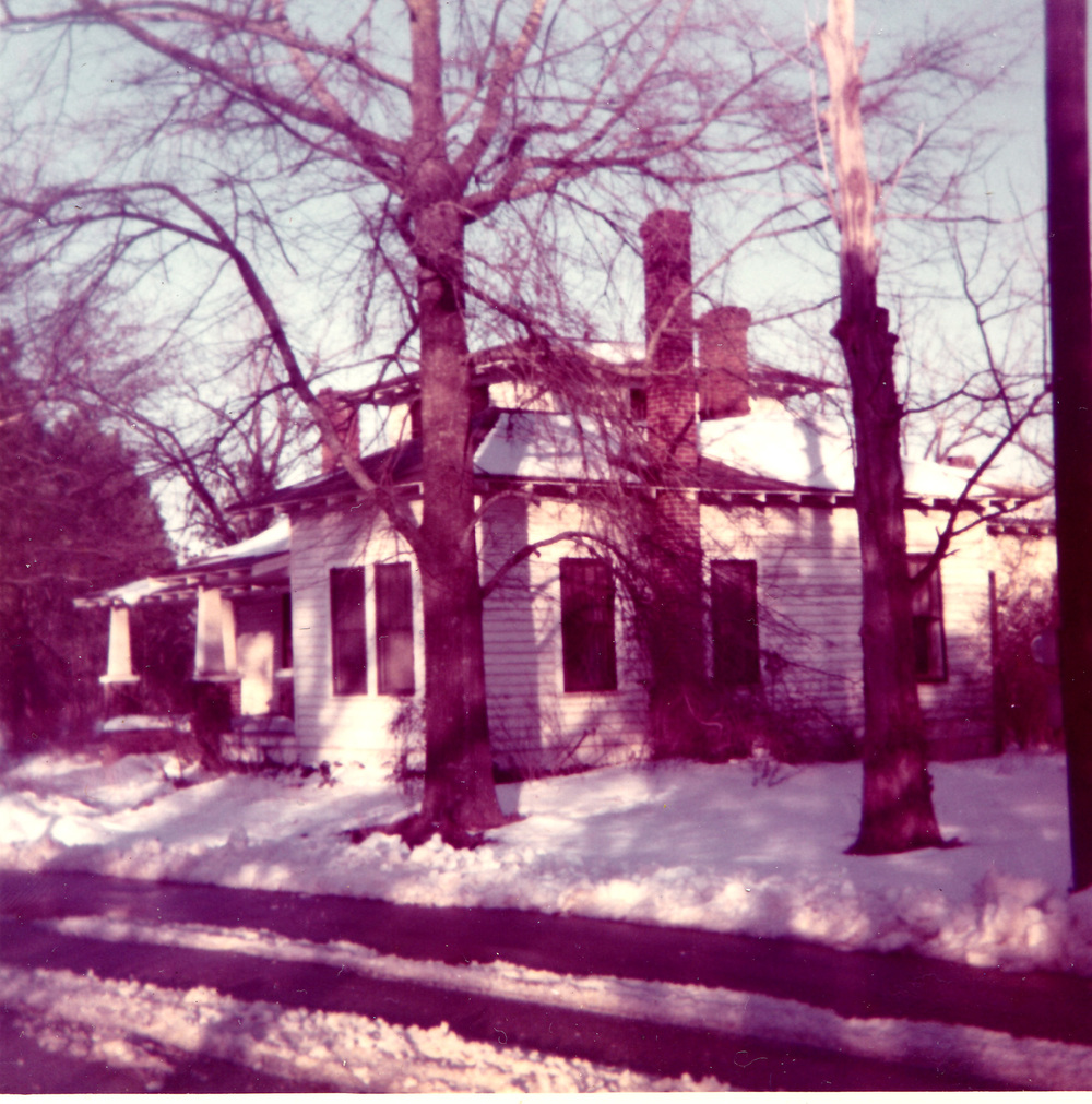 Home of W.A. McLean on Main Street.  Photo by Hudnalle McLean Sr.