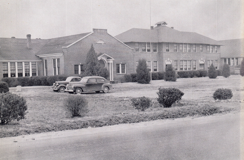 Blythewood School about 1951.