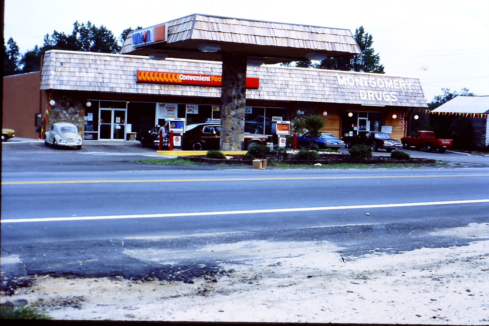 Photo of Blythewood in late 1970's by Hudnalle McLean.