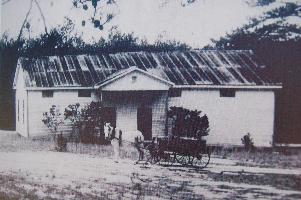 Old Killian School as it looked in the early 1900's.