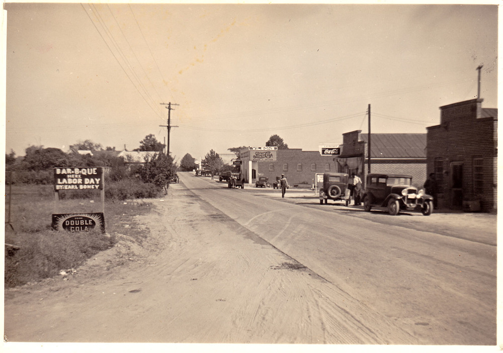 Blythewood about 1930.  Photo courtesy of Kay Wilson Lydon.