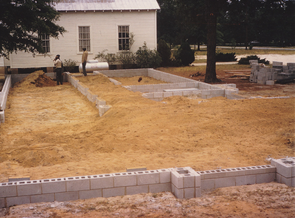 Trinity Church second building construction.jpg