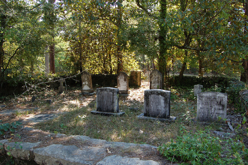 Cedar Creek Methodist Church Cemetery.  Photo by Jim McLean.