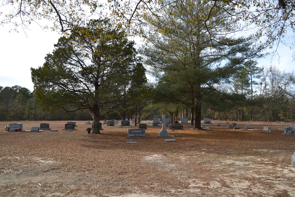St Mark's Cemetery located behind Church on Main Street.  Photo by Jim McLean.
