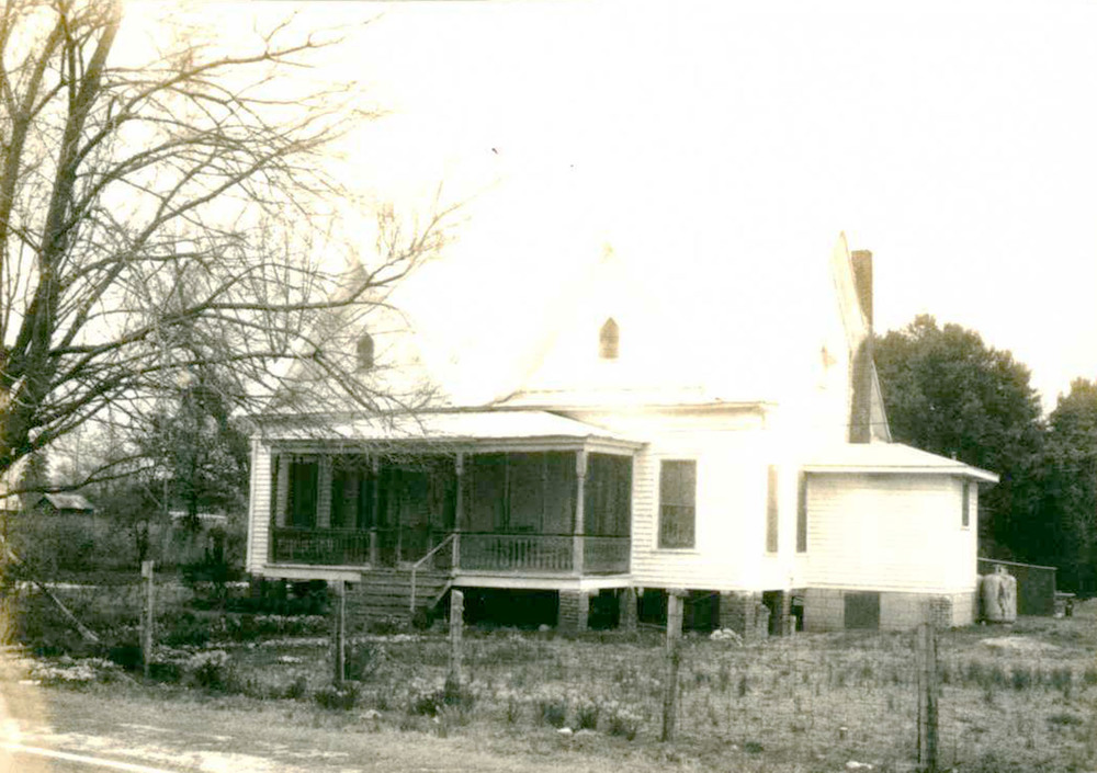 Bookhart/Blume House before Restoration.  Source: SC Department of Archives and History.