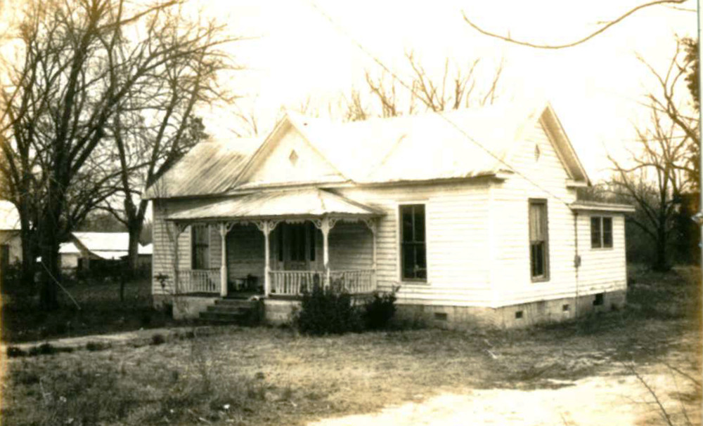 John W. Brown House that was located on Langford Rd. across from the Hoffman House.  Source:  SC Dept. of Archives and History.