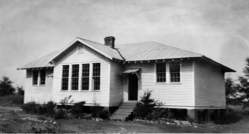 Cedar Creek Colored School about 1932.  Photo courtesy of SC Department of Archives and History.