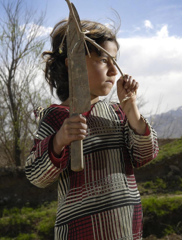 Machete #42  Parwan Province, Afghanistan