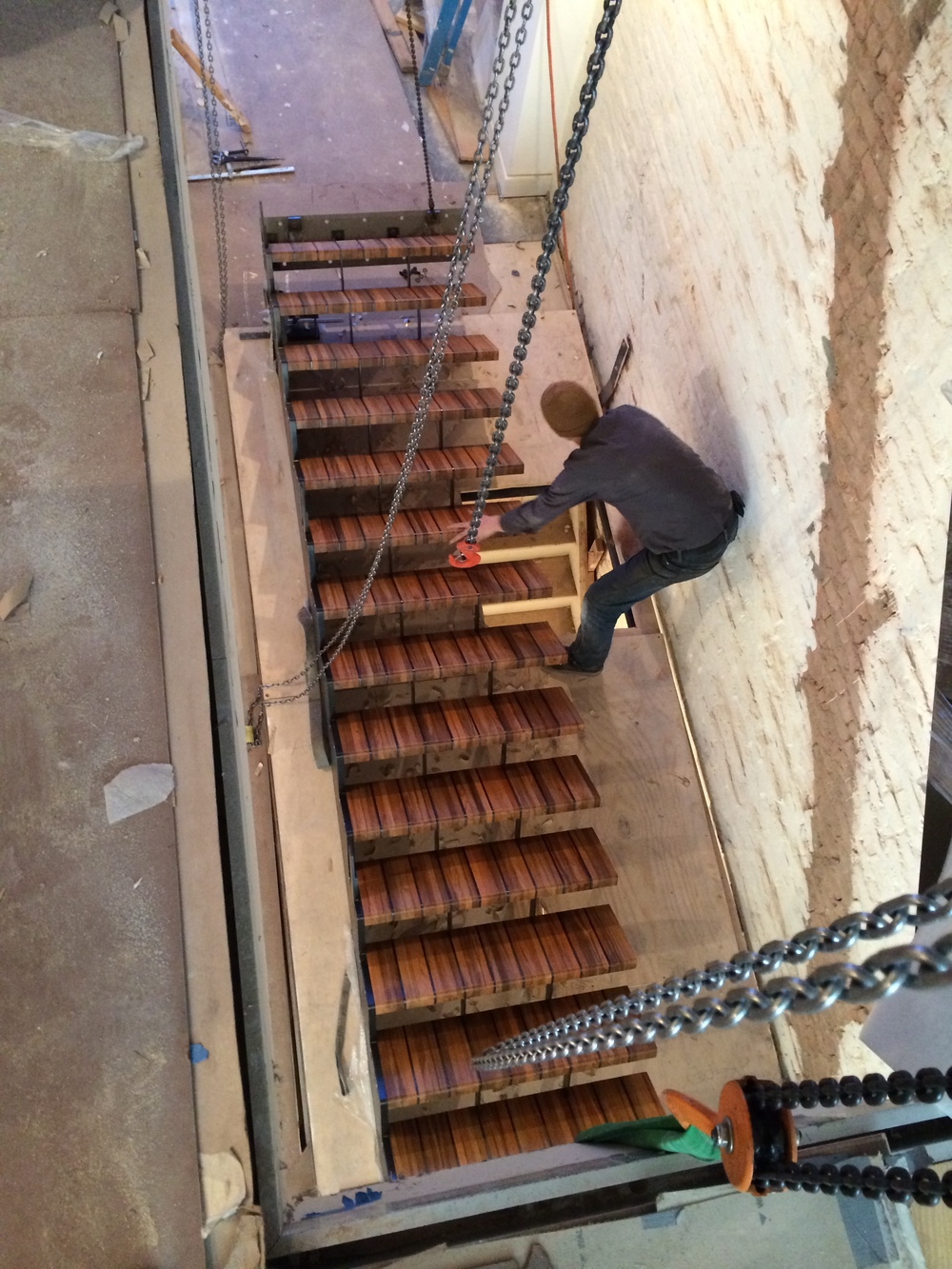 Jay Street stair install.JPG
