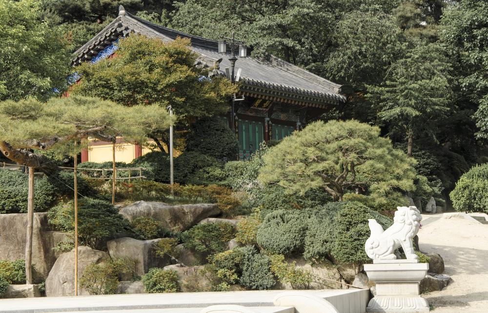 Temple Greenery