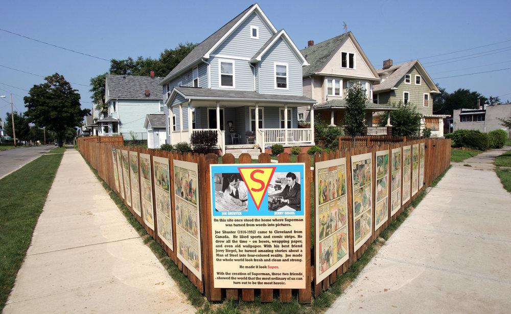 The Shuster House, Cleveland, Ohio.