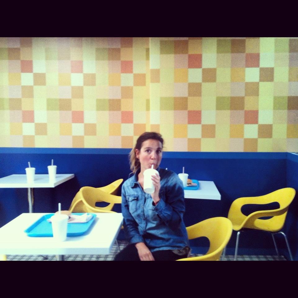 Fast food restaurant & me